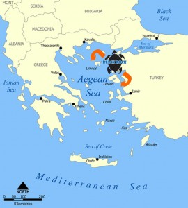 Greece Map 1